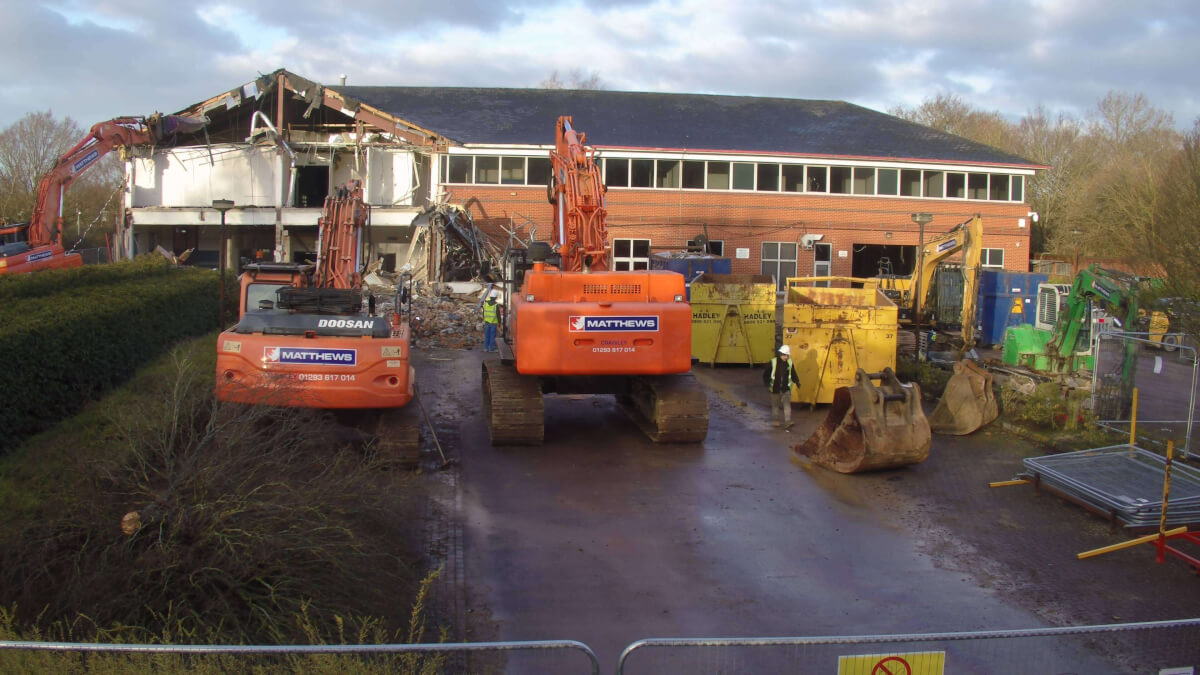 Demolition Reading